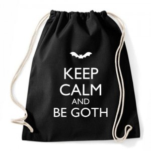 Worek Keep Calm And Be Goth