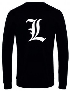 Death Note L bluza